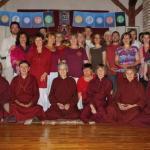 Az öt Tathágata mandalája - elvonulás Vadzsramálá vezetésével 2014