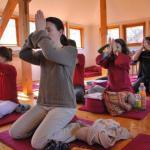 Meditáció a Maitreya házban